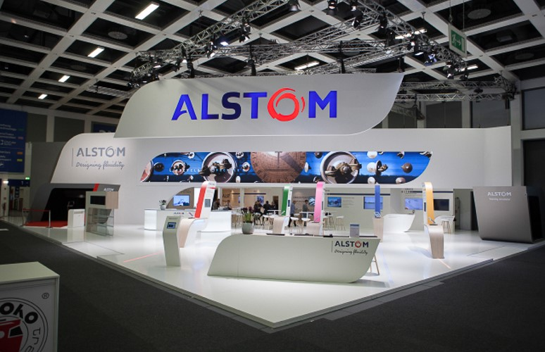 Stand ALSTOM - Belin (Allemagne) - Innotrans - Conseil Consulting