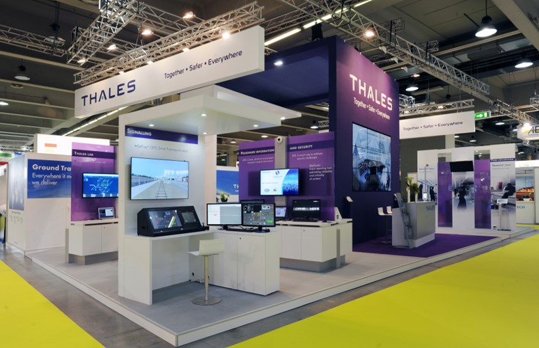 Conseil stand THALES - Milan (Italie) - UITP - consulting